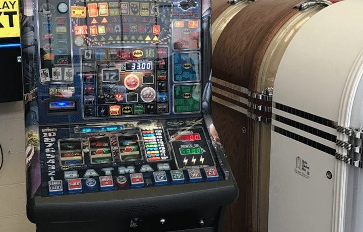 Batman Fruit Machine hire in Manchester