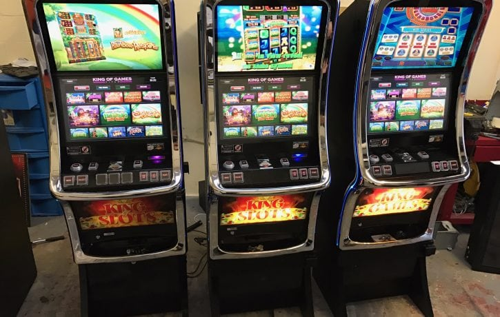 King of games fruit machine hire in Cheshire