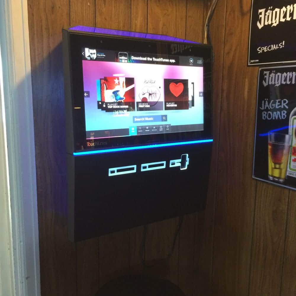 Playdium digital jukebox for hire