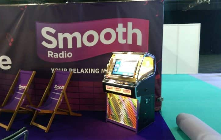 Smooth Radio Jukebox Hire In Manchester