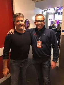 Paul, the founder of Amusement Leisure & Simon Cowell