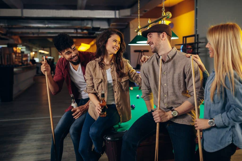 Contactless Pool Tables